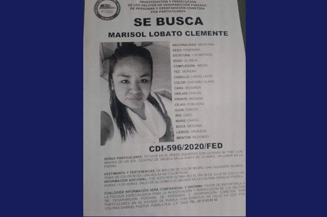 Desaparece mujer en Puebla camino al trabajo