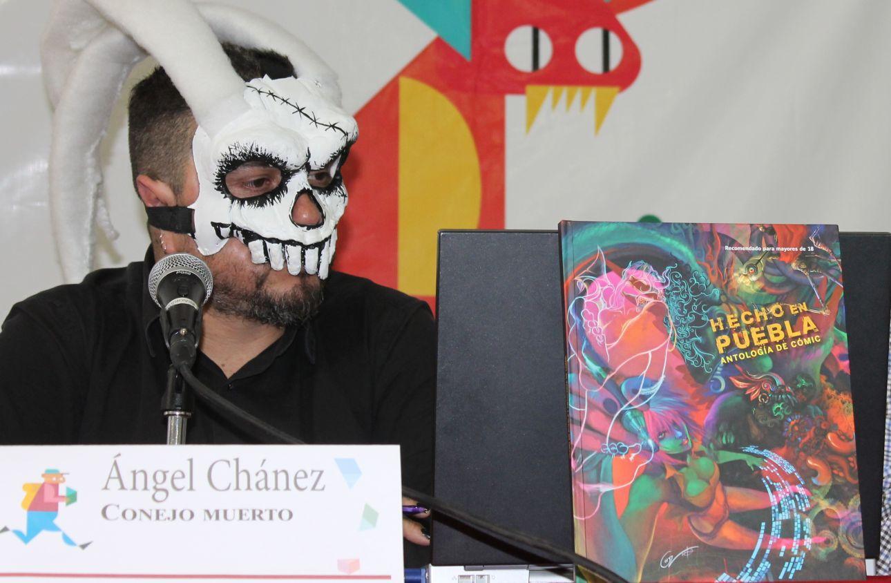 Presentan en Librofest Metropolitano Hecho en Puebla. Antología del comic