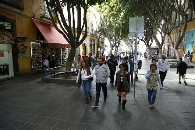 Por Buen Fin ambulantes liberaron el centro histórico
