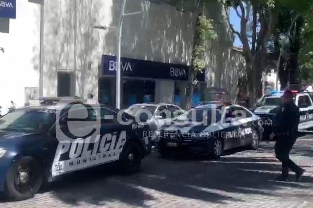 Asaltan a ex ministerial afuera del BBVA de Avenida Juárez