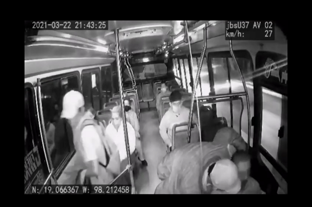 Graban violento asalto a ruta de los Morados en Puebla