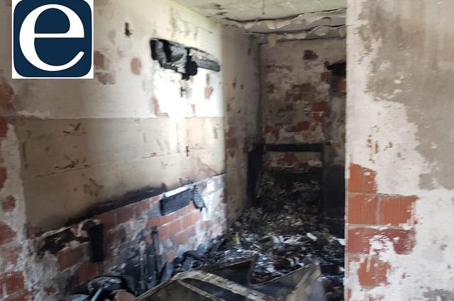 Explosión por gas en Coronango afectó a 57 departamentos