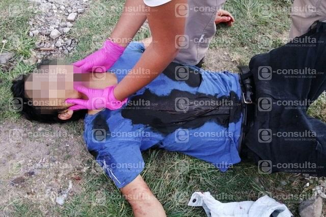 Le dan 3 balazos al llegar a su casa en Lomas de San Valentín