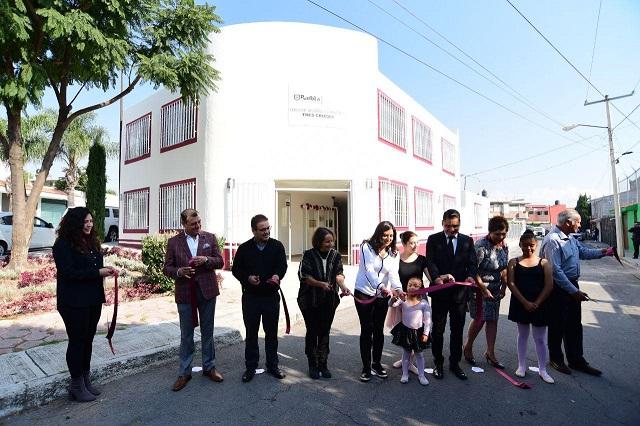 Rehabilitan Centro de Desarrollo Comunitario Tres Cruces