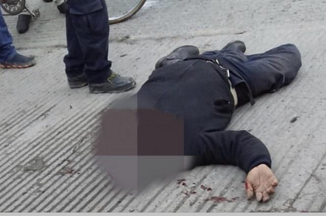 Un muerto deja caída de portón en Central de Abasto de Huixcolotla