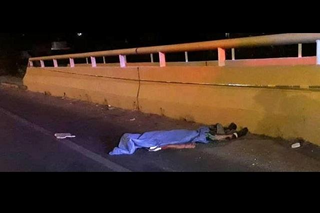 Atropellado, muere joven en la Recta a Cholula