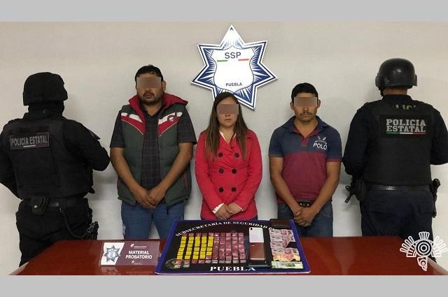 Cae en Huauchinango operadora de grupo delictivo de Veracruz