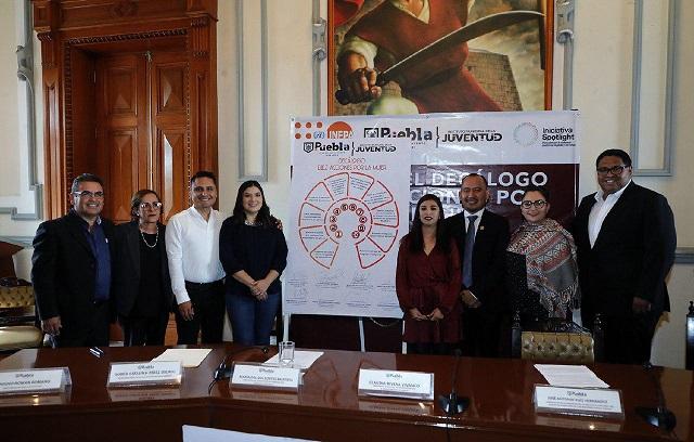 Firman decálogo por la Igualdad Sustantiva, en Puebla capital