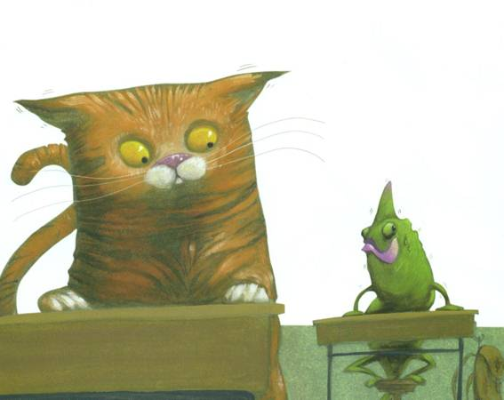 El gato y el camaleón