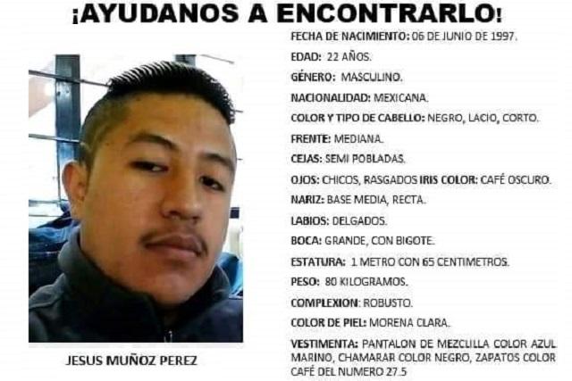 Desaparece tras robo a su domicilio; lo buscan en Puebla y Tlaxcala
