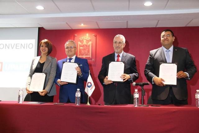 UPAEP y CANACINTRA Puebla firman convenios de colaboración