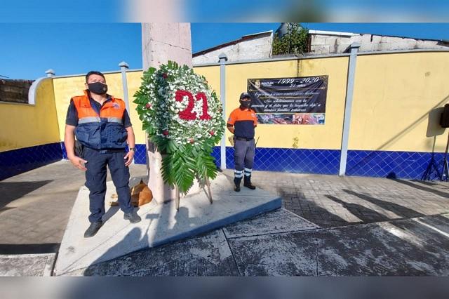Recuerdan avalancha del 99 en Teziutlán