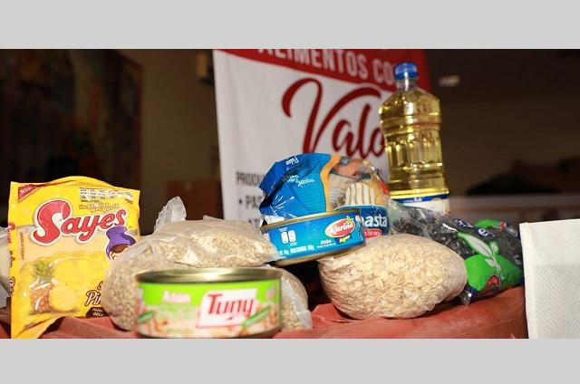 Ayuntamiento de San Andrés Cholula entrega despensas a bajo costo