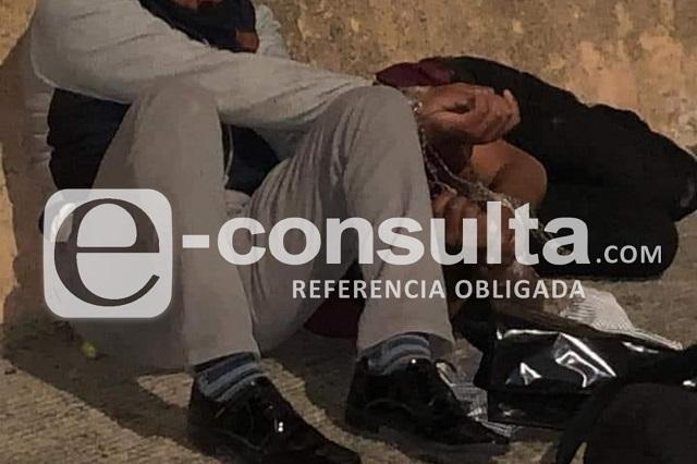 Vecinos golpean a dos ladrones de casas en Los Héroes