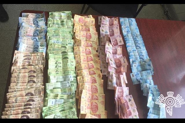 Aseguran 50 mil pesos y droga en área femenil de San Miguel