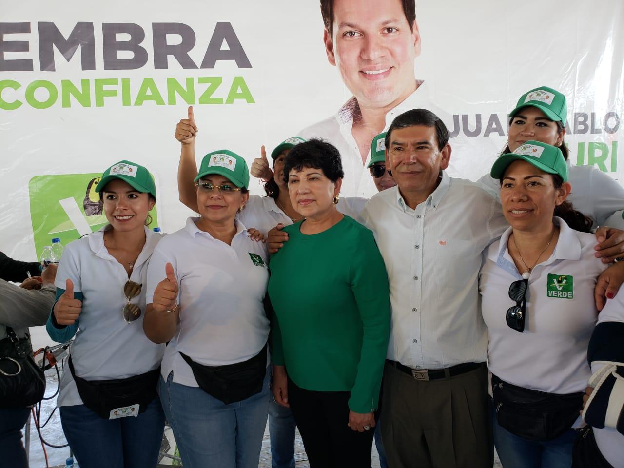Creará Partido Verde Hospital del Niño para Tehuacán