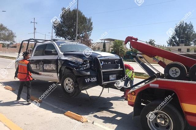 Persecución y balacera entre policías y ladrones, en Puebla