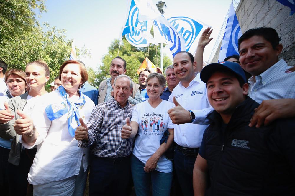 Regresa Ana Teresa Aranda al PAN y se suma a campaña de Cárdenas
