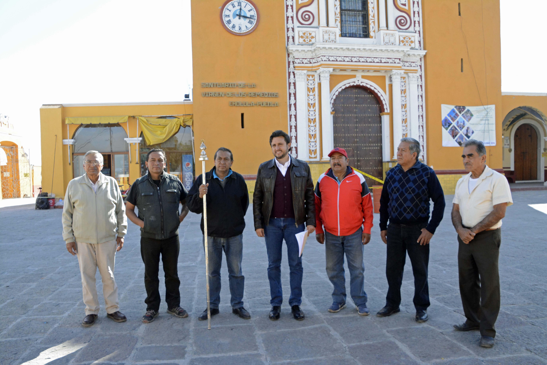 Reconstrucción del Santuario de los Remedios va al 90 por ciento: edil