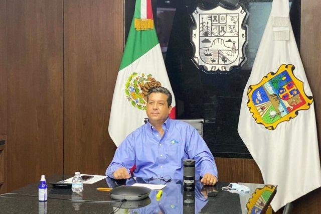 Gobernador de Tamaulipas da positivo a Covid19