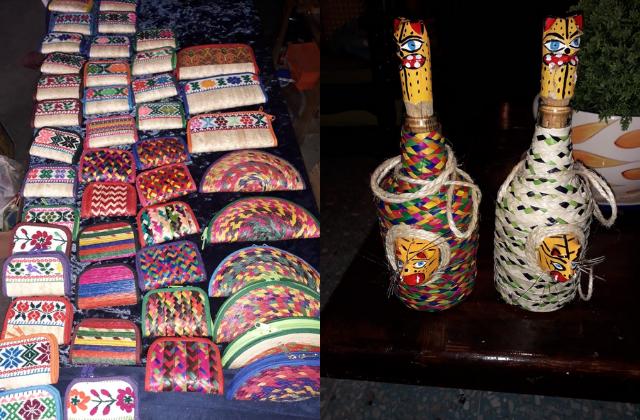 Papá de normalista desaparecido vende artesanías para subsistir