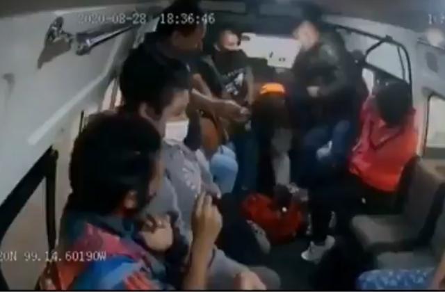 """Cae cómplice del """"ladrón de la combi"""": tiene 16 años"""