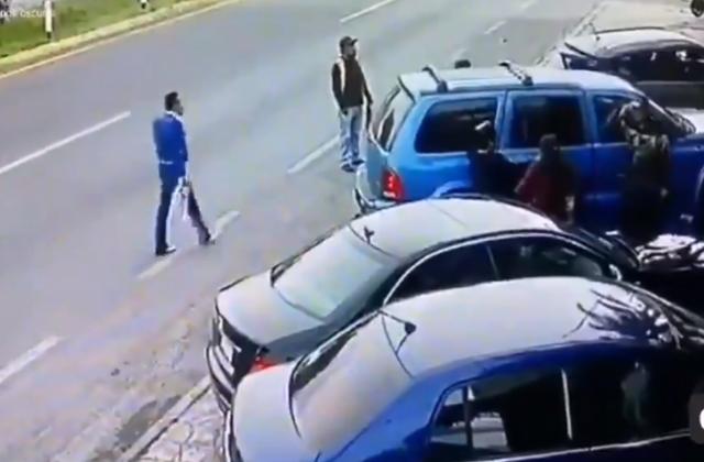 Arrollan a Mariachi en Tlaxcala; lo embistieron dos autos