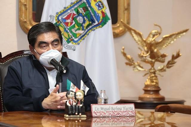 Gobierno sólo hará recomendaciones a partidos y candidatos: Barbosa