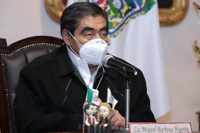 El rector, ajeno a la disputa jurídica de la UDLAP: Barbosa