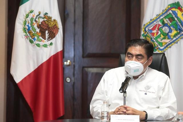 Reconoce Barbosa Huerta el trabajo y demandas de los policías estatales