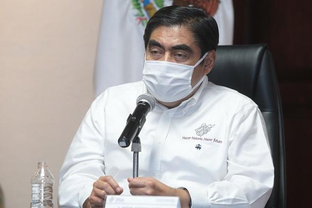 Nuevo municipio de Morelos no afectó a Puebla: Barbosa