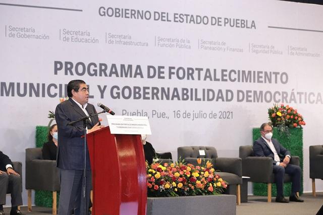 Plantea Barbosa coordinaciones regionales para abatir delitos