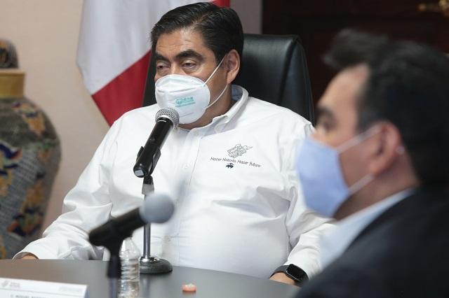 En Puebla hay mejores condiciones de seguridad: Barbosa