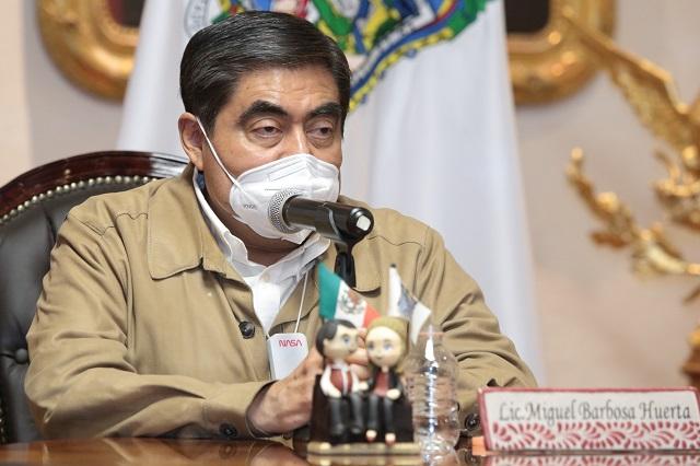 Delitos deben denunciarse no platicarse, dice Barbosa a panista