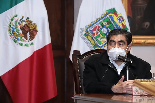 Barbosa: poblanos no deben apurarse por cuotas ni por FONDEN