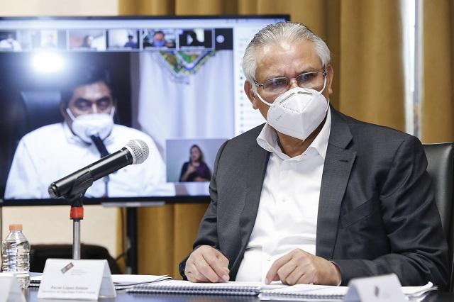 Incidencia delictiva en Puebla bajó 23.25 %: Raciel López
