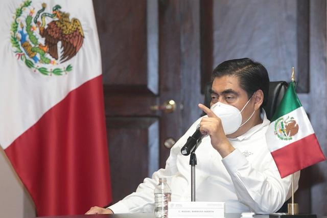 Con estabilidad, Puebla avanza en medio de la pandemia: Barbosa