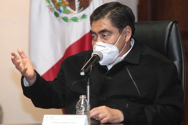 Estoy con AMLO en debate sobre libertad de expresión: Barbosa