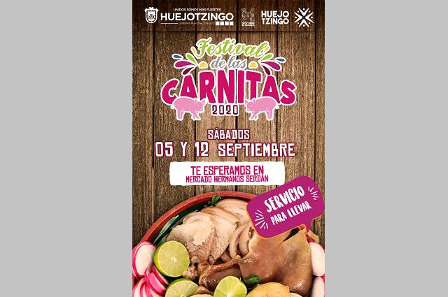 Inicia en Huejotzingo el Festival de las Carnitas 2020