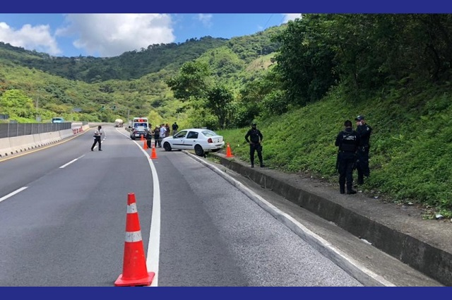 Matan a conductor frente a su familia en Xicotepec