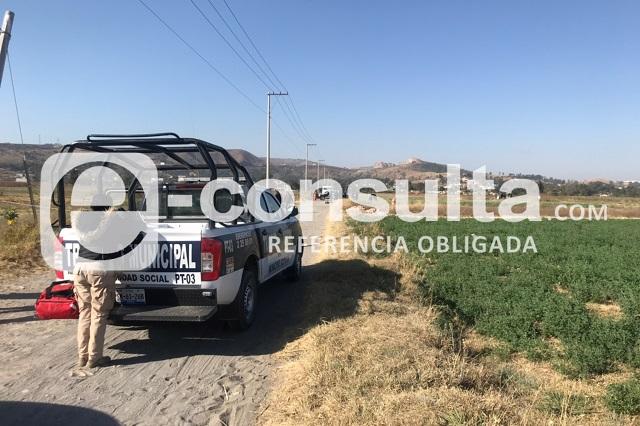 A balazos ejecutan a hombre en Santa Clara Ocoyucan