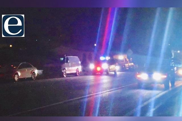 Choque en la Vía Corta deja 1 muerto y 3 heridos