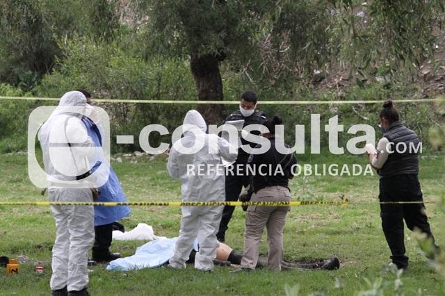 Lo asesinan a balazos en San Isidro Castillotla