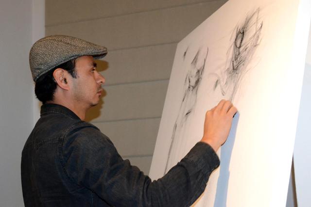 Almícar Rivera regresa al Museo Universitario de la BUAP
