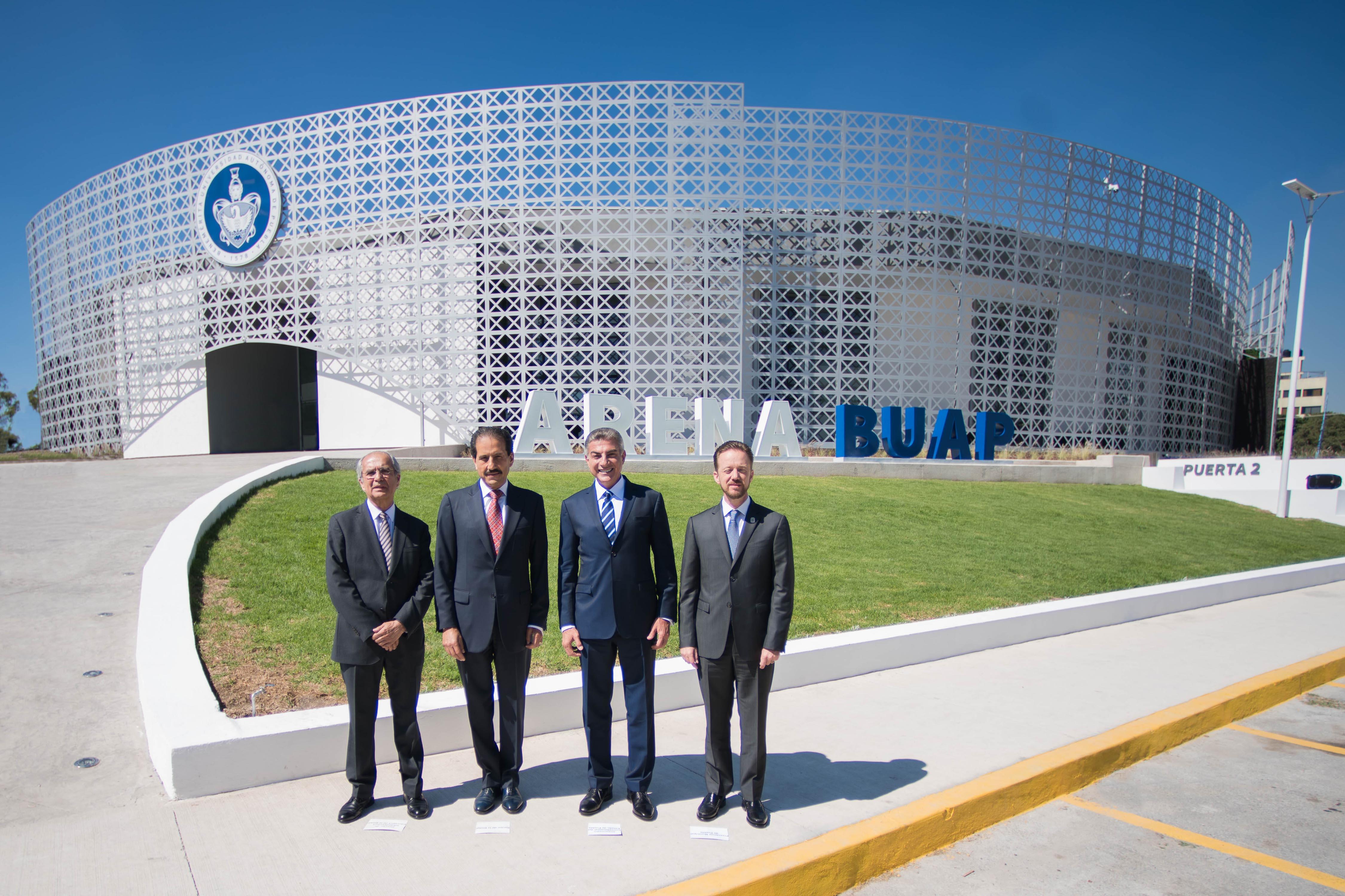 Arena BUAP, orgullo de los universitarios: Alfonso Esparza