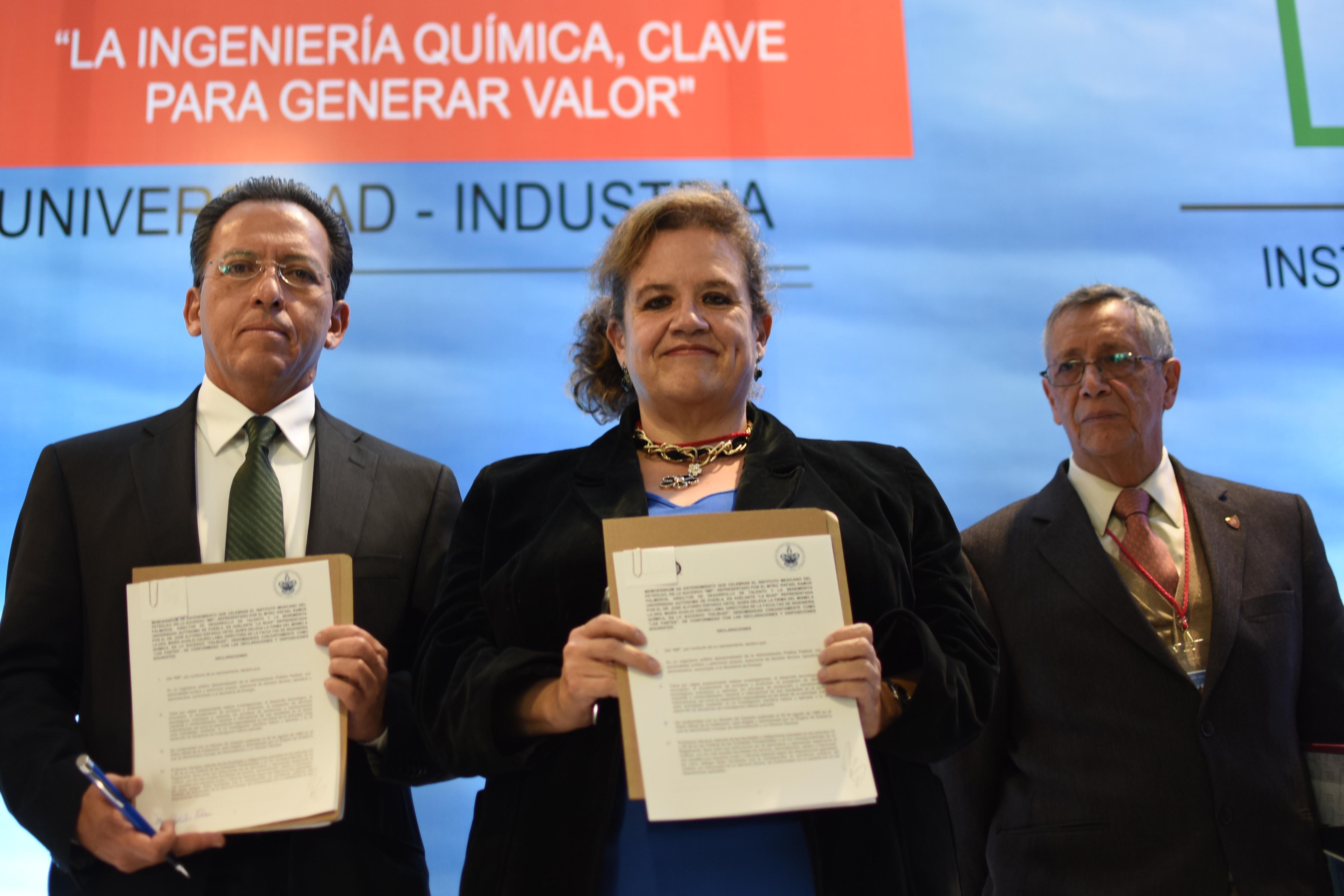 BUAP y el Instituto Mexicano del Petróleo  signan memorándum de entendimiento