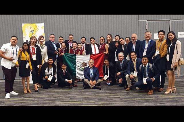 Estudiantes BUAP ganan tercer lugar en Enactus World Cup 2019