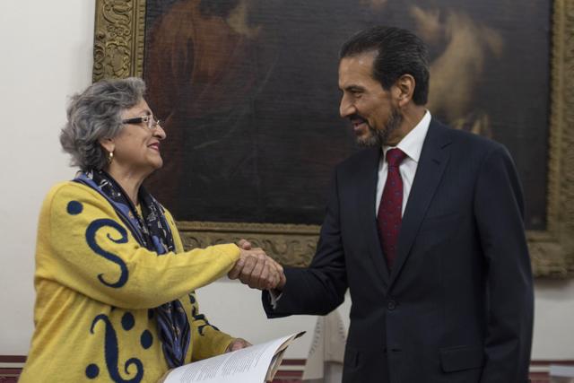 Nombra el Rector Alfonso Esparza Ortiz a Guadalupe Grajales Porras como titular de la Secretaría General de la BUAP