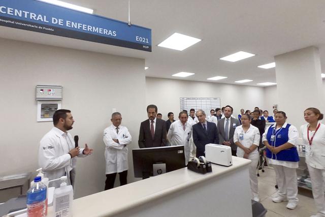 El HUP será acreditado como hospital seguro en caso de emergencias