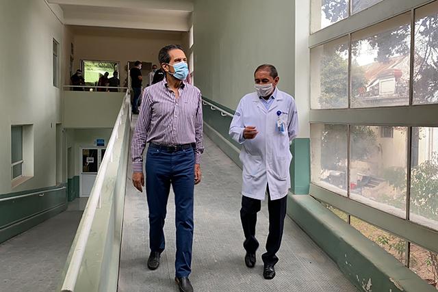 Acondiciona BUAP nueva área del HUP para enfermedades respiratorias